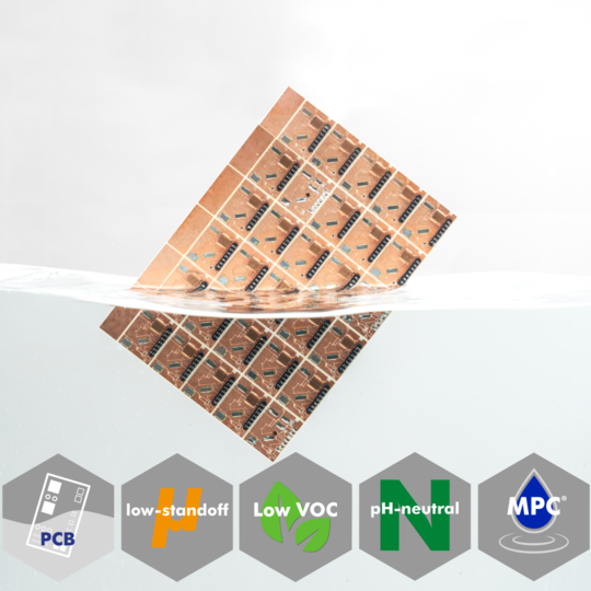 Water-based, pH neutral defluxing agent