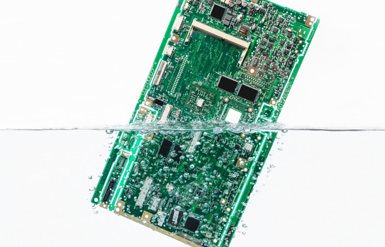 SMT Electronics Cleaning