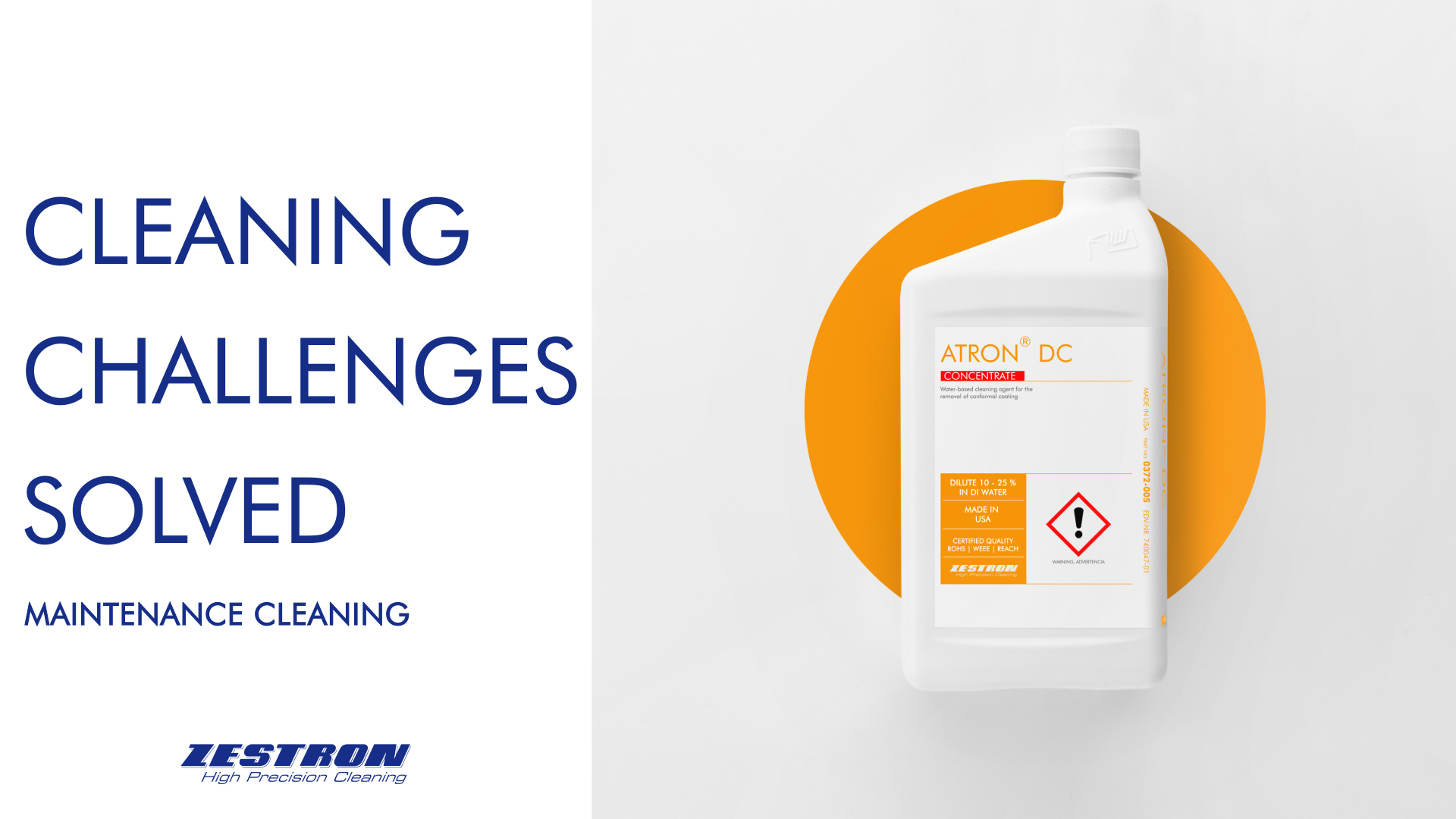 Maintenance Cleaning Challenges